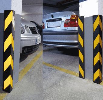 protectores de columna para estacionamiento