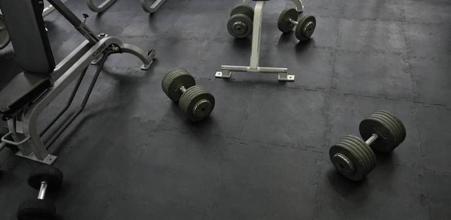 Piso para gimnasio