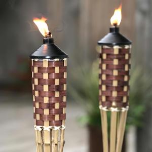 Antorchas de Bambú