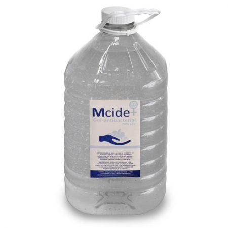 gel sanitizante antibacterial hidroalcoholico