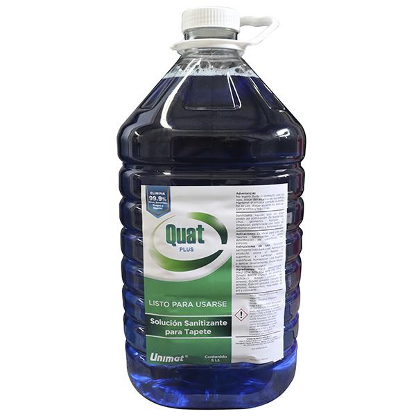 Solución Sanitizante para Tapetes
